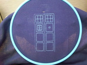 Tardis Blackwork