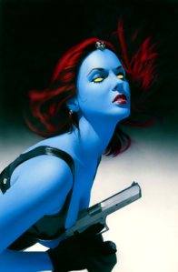 Mystique by Mike Mayhew from Wikipedia